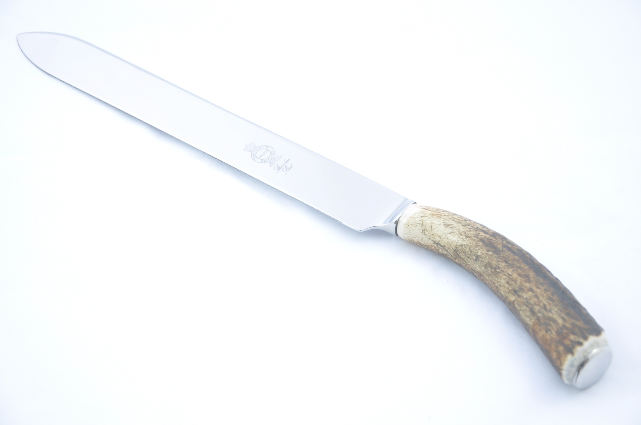Genuine Stag Handled Wedding Cake Knife Gift Boxed The Sheffield Cutlery Shop